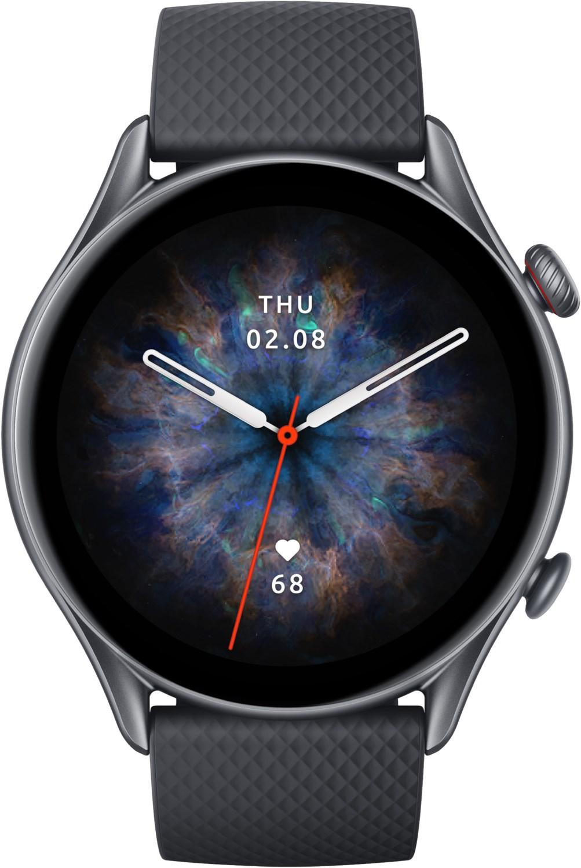 Smartwatches - Amazfit GTR 3 Pro Smartwatch infinite black  - Onlineshop EURONICS