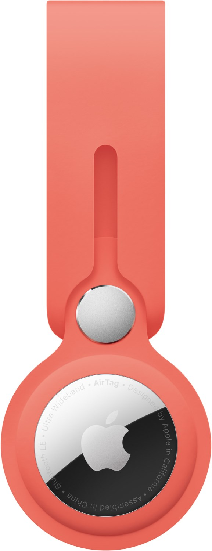 AirTag Anhänger pink citrus