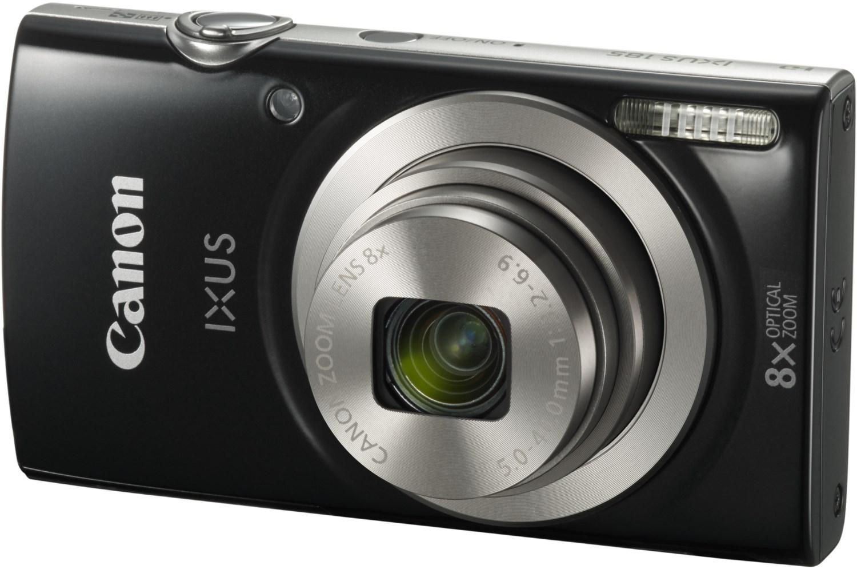 Digitalkameras - Canon IXUS 185 Digitalkamera schwarz  - Onlineshop EURONICS
