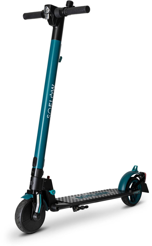 #SO1 E-Scooter mit Straßenzulassung schwarz/grün#