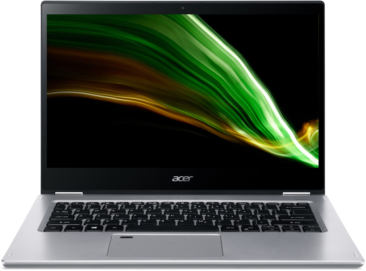 Spin 3 (SP314-21N-R3VN) 35,56 cm (14″) 2 in 1 Convertible-Notebook silber