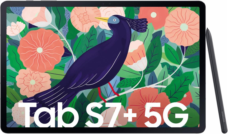 Galaxy Tab S7+ 5G mystic black