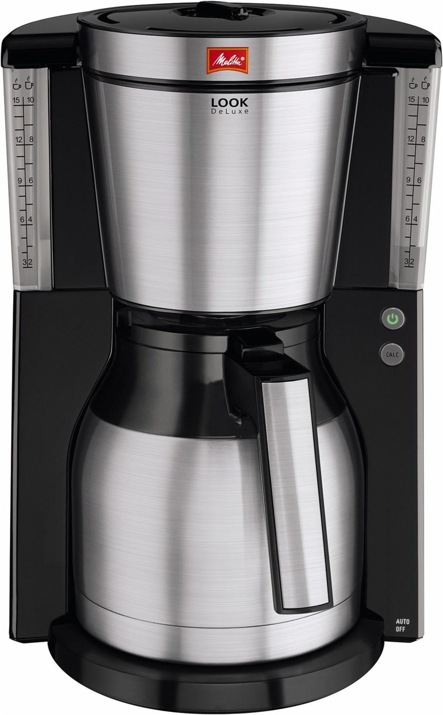 Look Therm de luxe 1011-14 Kaffeeautomat mit Thermokanne schwarz/edelstahl
