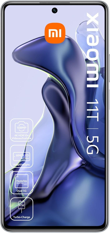 11T 5G (8GB+256GB) Smartphone moonlight white