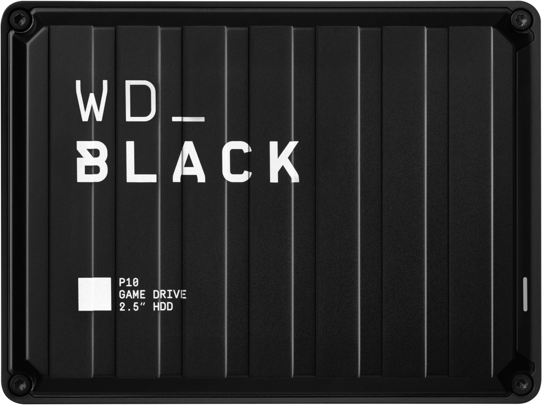 WD Black P10 Game Drive USB 3.2 Gen 1 (4TB) Externe Festplatte schwarz