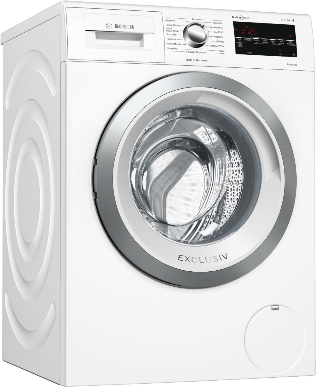 WAG28492 Stand-Waschmaschine-Frontlader weiss / C
