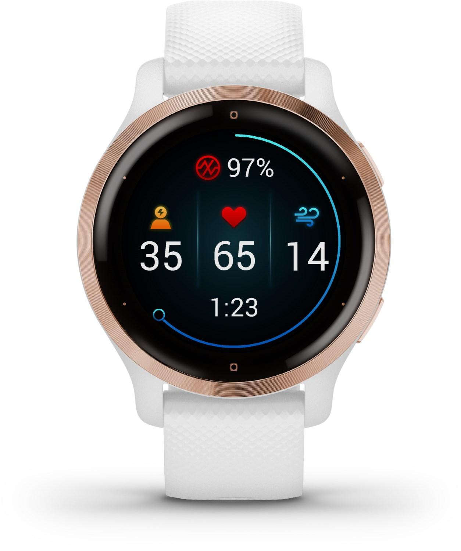 Smartwatches - Garmin Venu 2S Smartwatch weiß rosegold  - Onlineshop EURONICS
