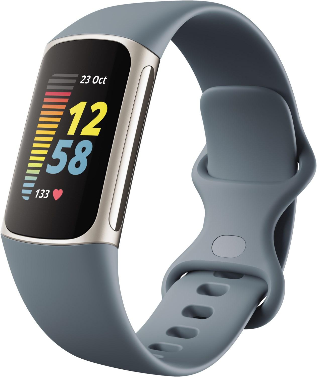Charge 5 Activity Tracker graublau/platin