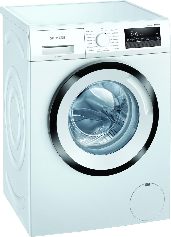 Siemens WM14N122 Stand-Waschmaschine-Frontlader weiss D