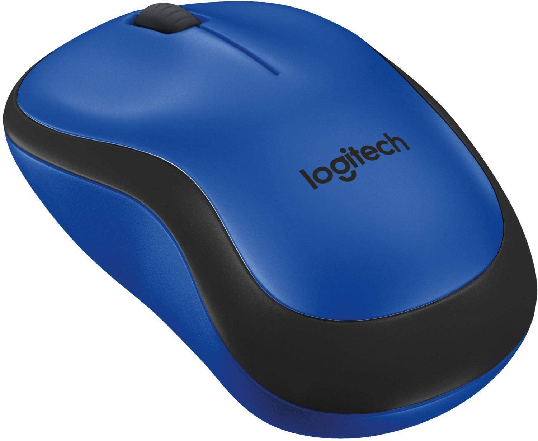M220 Silent Kabellose Maus blau