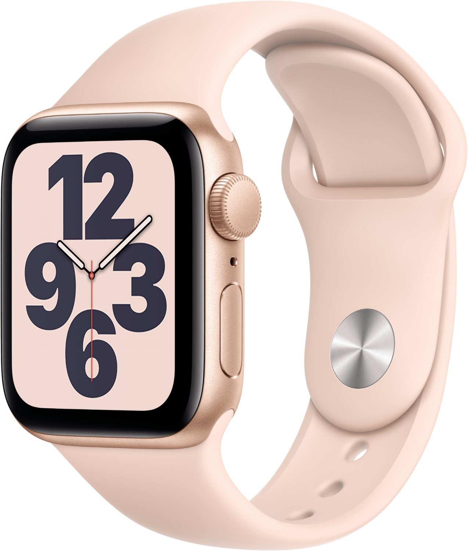 Watch SE (40mm) GPS mit Sportarmband gold/sandrosa