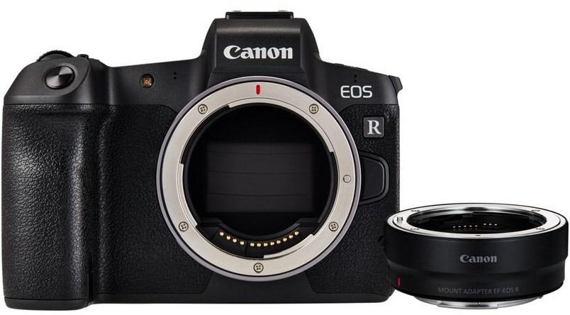 Systemkameras - Canon EOS R Gehäuse Adapter EF EOS R Digitale Systemkamera  - Onlineshop EURONICS
