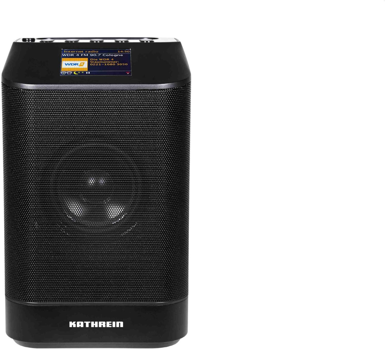 #DAB+ 10 tower Aktiver Multimedia-Lautsprecher schwarz#