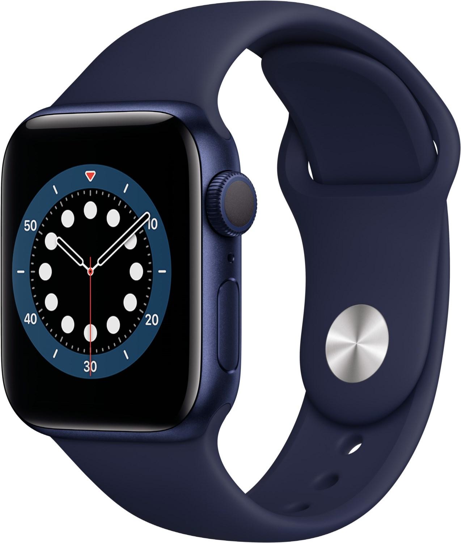 Smartwatches - Apple Watch Series 6 (40mm) GPS mit Sportarmband blau dunkelmarine  - Onlineshop EURONICS