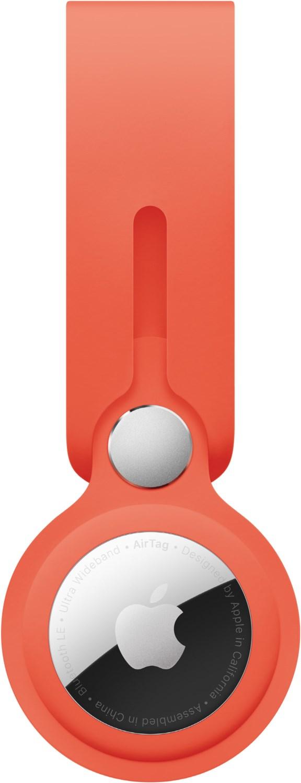 AirTag Anhänger Leuchtorange