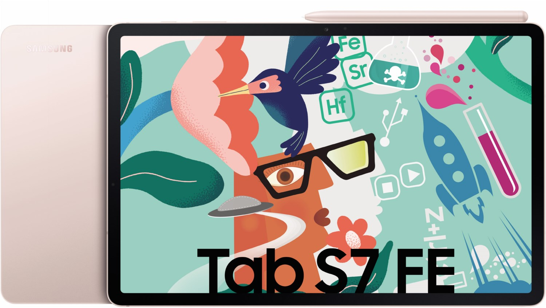 Galaxy Tab S7 FE WiFi Tablet mystic pink