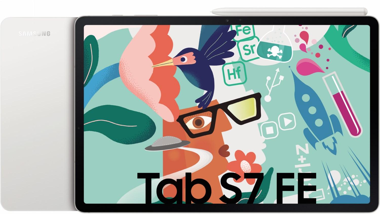 Galaxy Tab S7 FE WiFi Tablet mystic silver