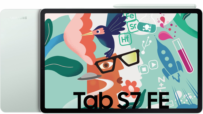 Galaxy Tab S7 FE WiFi Tablet mystic green