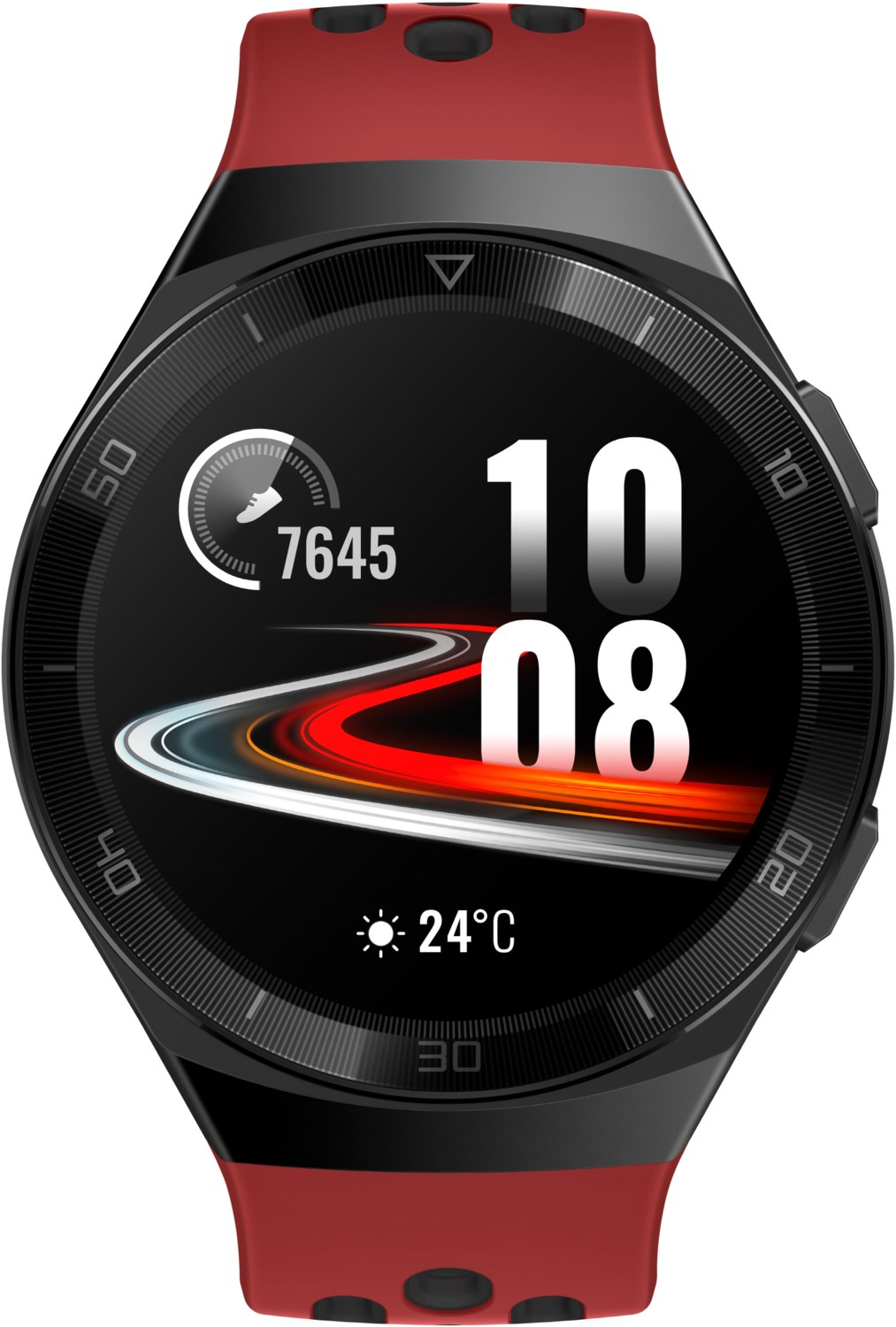 Smartwatches - Huawei Watch GT 2e Smartwatch lava red  - Onlineshop EURONICS