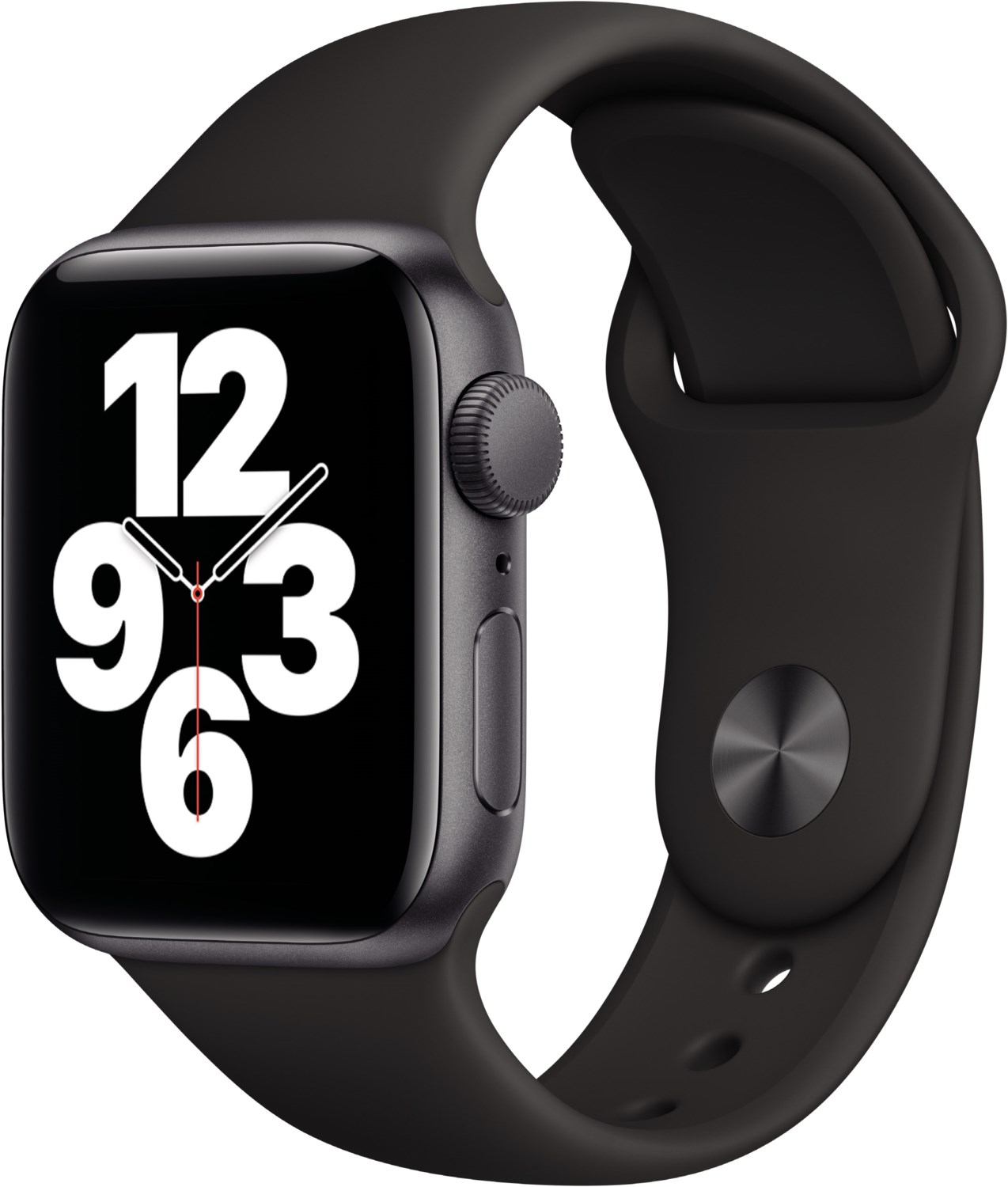 Smartwatches - Apple Watch SE (40mm) GPS mit Sportarmband space grau schwarz  - Onlineshop EURONICS