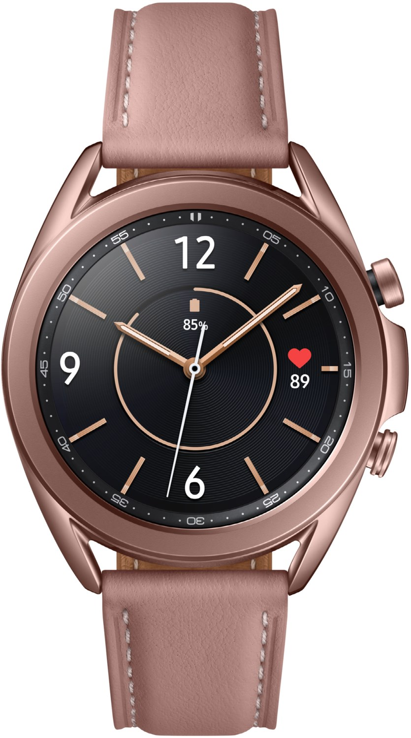 Smartwatches - Samsung Galaxy Watch3 (41mm) mystic bronze  - Onlineshop EURONICS